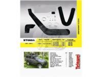 Шноркель Toyota Land Cruiser 60/61/62 (бензин 2F 4.2л-I6 бензин 3F 4.0л-I6, дизель 2H 4.0л-I6, дизель 12H-T 4.0л-I6) ST060A