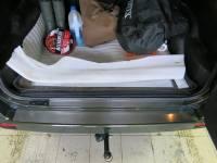 Накладка на багажник Rival, UAZ Patriot V - все, 2005-, Полиуретановый, влагостойкий двусторонний скотч, нержавеющая сталь