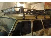 Багажник на УАЗ Хантер Сахалин усиленный (8 опор)