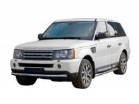 Передняя защита труба Landrover Range Rover HSE4.6