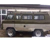 Обшивка кузова УАЗ 452 алюминиевым листом